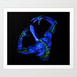 Lightening Art Print