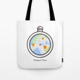 DRAGON MAPS Tote Bag
