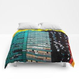 Gran Via Sunset Comforters