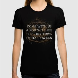 Our Town of Halloween T-shirt