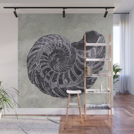 Ammonite study Wall Mural