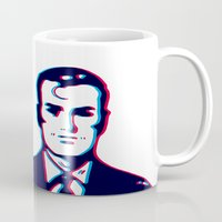 no face Mugs featuring face by radiozimbra