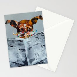 News for dog Stationery Cards