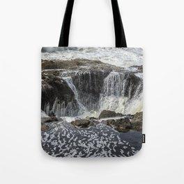 Thor's Well, No. 3 Tote Bag