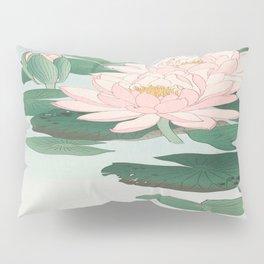 Ohara Koson - Water Lillies Pillow Sham