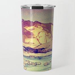 Sunset at Yuke Travel Mug