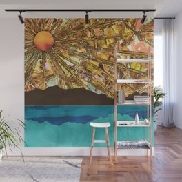 Fractured Sky Wall Mural