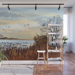 Duck Hunting Season Begins For The Canvasback Wall Mural