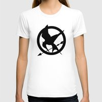 mockingjay T-shirts featuring The MockingJay  by Lauren Lee Design's