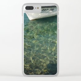 217 DB Clear iPhone Case