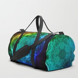 Evolution in abstract Duffle Bag