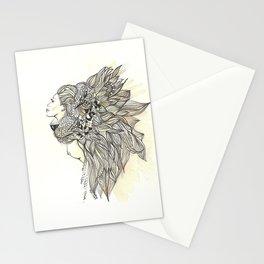 animalia lion Stationery Cards