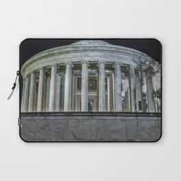Jefferson Memorial - Side View Laptop Sleeve