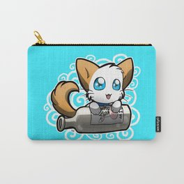 Zodiac Cats - Aquarius Carry-All Pouch