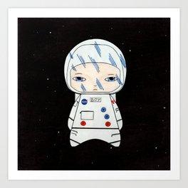 A Boy - Astronaut Art Print