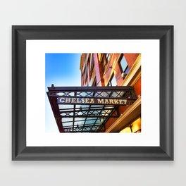 Chelsea Market Framed Art Print