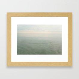 Calm Seas Framed Art Print