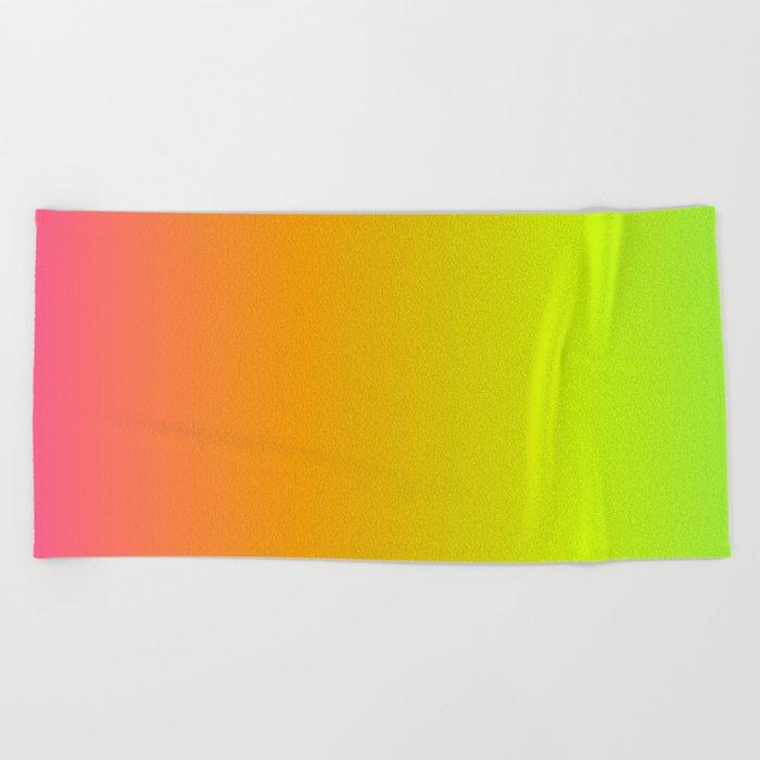 Pride Gradient Beach Towel