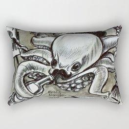 Multitasking Octopus Rectangular Pillow