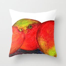 Mangos Throw Pillow