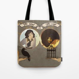 The Bird or the Cage Tote Bag