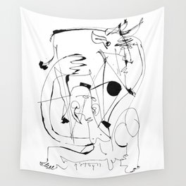 Matador - b&w Wall Tapestry