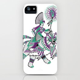 The Bear Rider iPhone Case