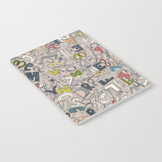 A1B2C3 clay Notebook