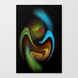 Abstract Perfektion 90 Canvas Print