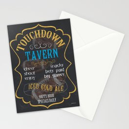 Touchdown Tavern Stationery Cards