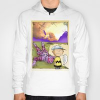 peanuts Hoodies featuring Peanuts  by Anand Brai