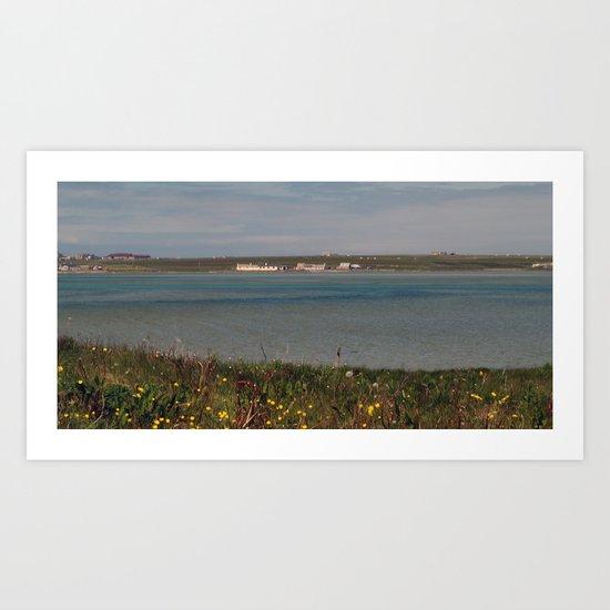 The Little Sea Art Print