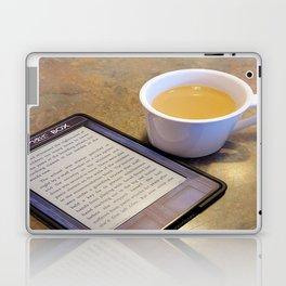 My Coffee and My Kindle Laptop & iPad Skin