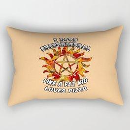 I Love Supernatural Rectangular Pillow