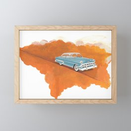 I wish you would put yourself in my suitcase Framed Mini Art Print