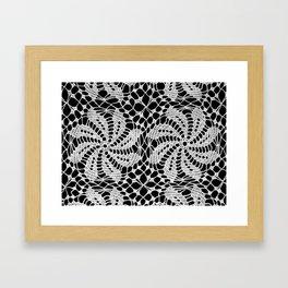 lace ornament 2 Framed Art Print