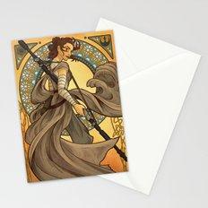 Art Nouveau Rey Stationery Cards