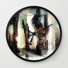 City Lost Wall Clock