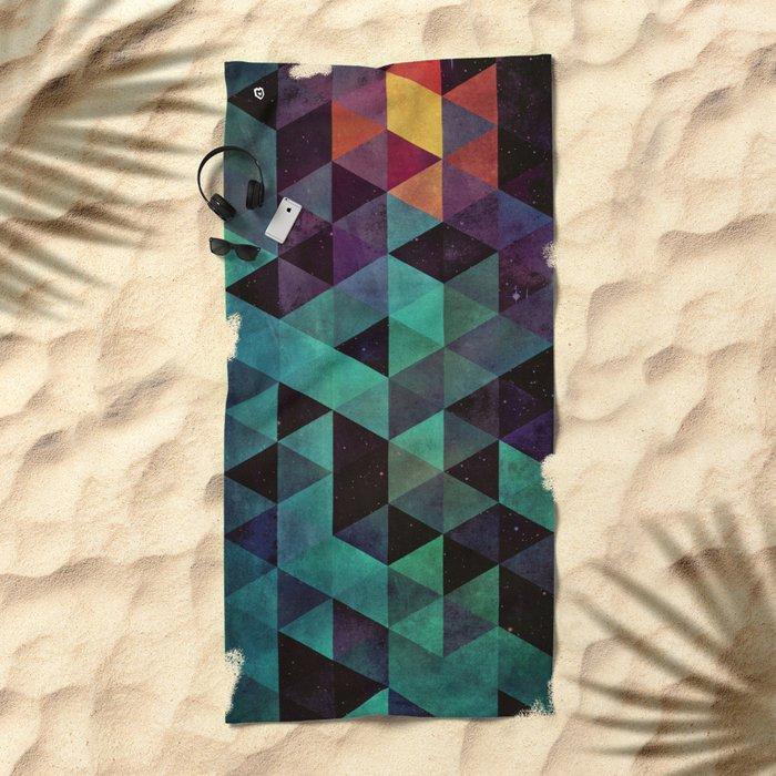 dyyp tyyl Beach Towel