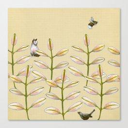 Forest Dwellers - Flora & Fauna Canvas Print