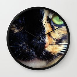 Lady Cat Wall Clock