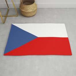 Czech Republic country flag Rug