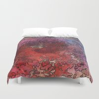 barcelona Duvet Covers featuring Barcelona by Andrea Gingerich