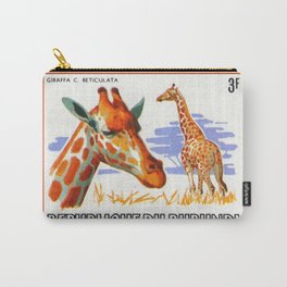 Giraffa Camelopardalis 1 Carry-All Pouch