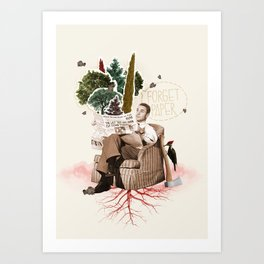 FORGET PAPER Art Print