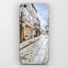 The Shambles York Snow Art iPhone & iPod Skin