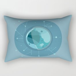 Planet F - Trappist System Rectangular Pillow