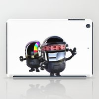 minions iPad Cases featuring Daft Minion by Harry Martin