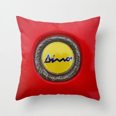 Ferrari Dino Throw Pillow