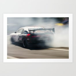Drift Shifting racing 1 Art Print